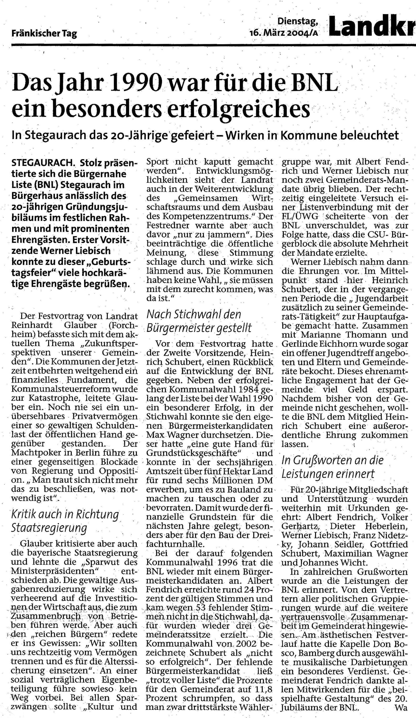 Zeitungsbericht 2004_FT
