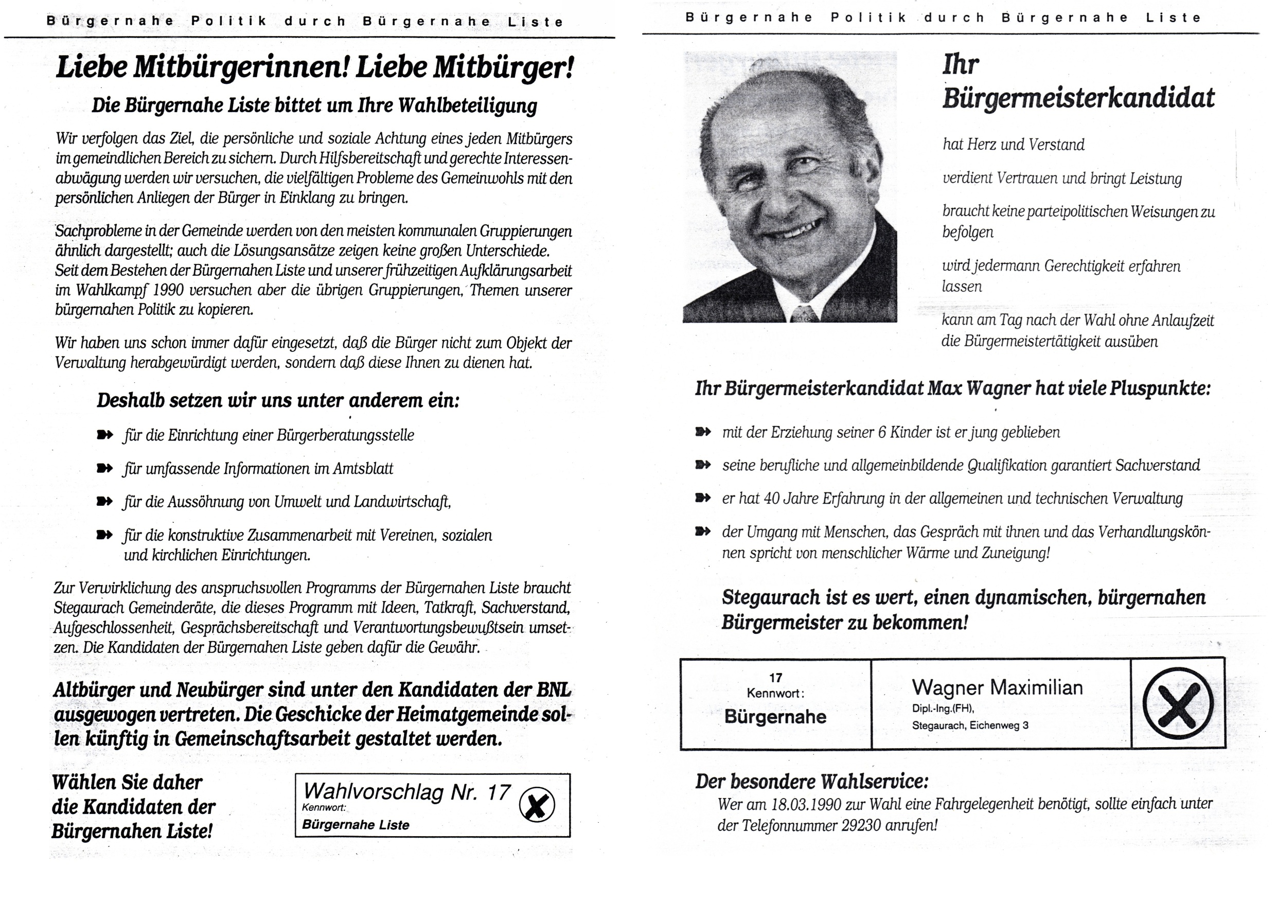 Flyer 1990_Stichwahl 900318