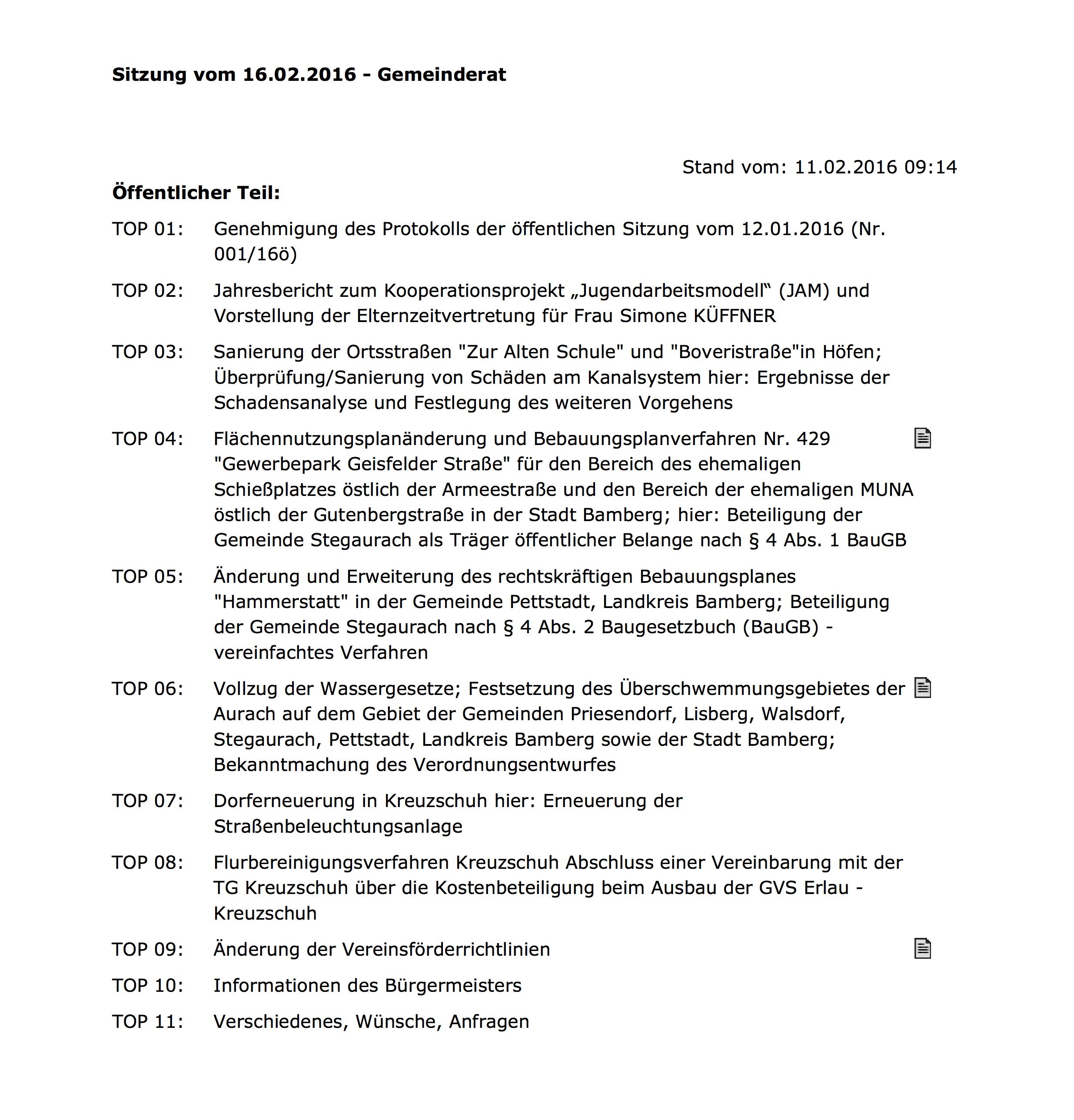Gemeinderatsitzung_160216